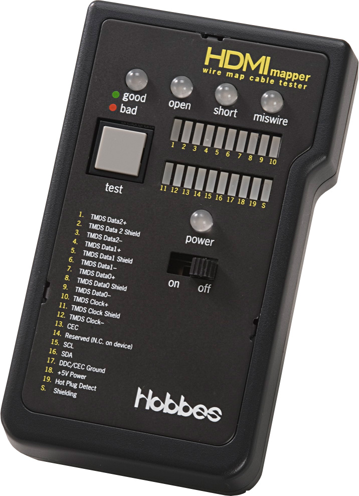 Hobbes HDMImapper HDMI und High Definition Kabel Tester