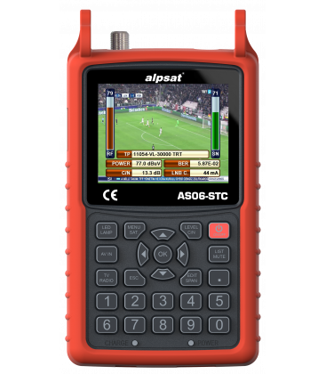 Alpsat AS06-STC/AHD  COMBI ANALYZER S2/C2/T2 + AHD