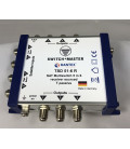 Switch Master 1 Sat - 6 Teilnehmer Multischalter 5/6 HDTV/UHD Made in Germany