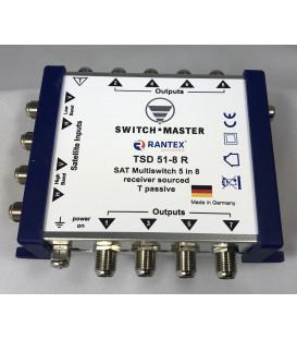 Switch Master 1 Sat - 8 Teilnehmer Multischalter 5/8 HDTV Made in Germany
