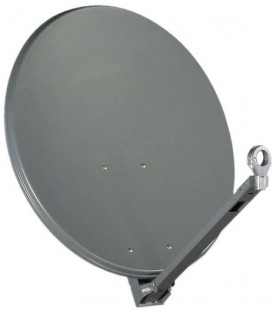 Gibertini Sat Antenne OP85XP, Profi-Serie, 85cm, Farbe Rot