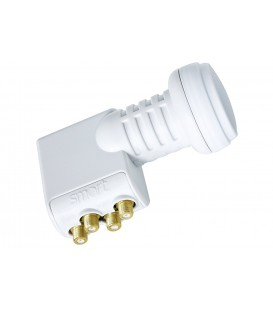 SMART TITANIUM Gold Quattro-LNB, 0,1dB, FULL HDTV/UHD-fähig