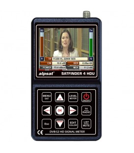 ALPSAT Satfinder 4 HD ULRA DVB-S/S2  KU/KA/C-BAND Unicabe I+II