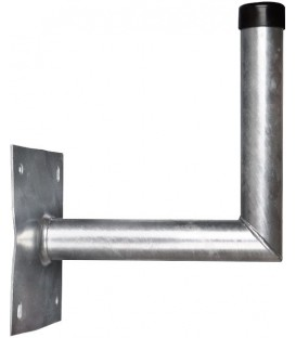 SAT wall bracket, hot-dip galvanized steel - 30 cm