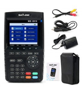 SATLINK WS 6916, for DVB-S/S2