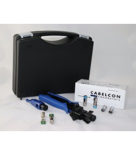 Cabelcon Compression F-connector complete set