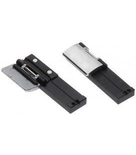 Fiberholder 250µ, pair (black)