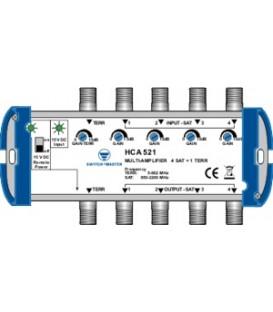 Switch Master HCA 521, 5 x Multi-Line Verstärker 20dB