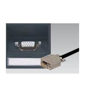 VGA 15-polig HDD Buchse mit Schrägauslass