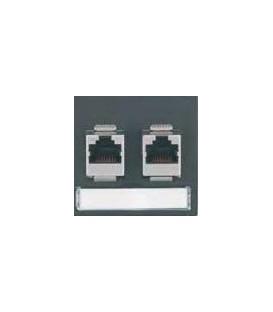 Datenplatte mit zwei Modular-Adapter