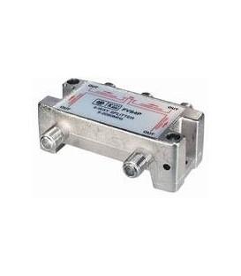 4-Fach Verteiler 5-2500MHz Digitaltauglich DC an einem Anschluss