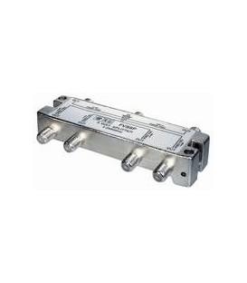 6-fach Verteiler 5-2500MHz Digitaltauglich DC an einem Anschluss