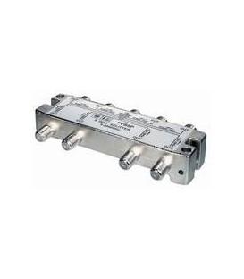 8-fach Verteiler 5-2500MHz Digitaltauglich DC an allen Anschlüssen